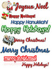Thumbnail Holiday clipart Collection