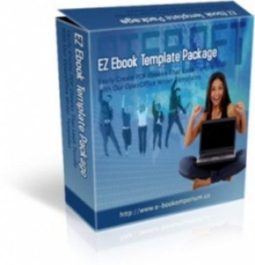 Product picture EZ ebook Template Package