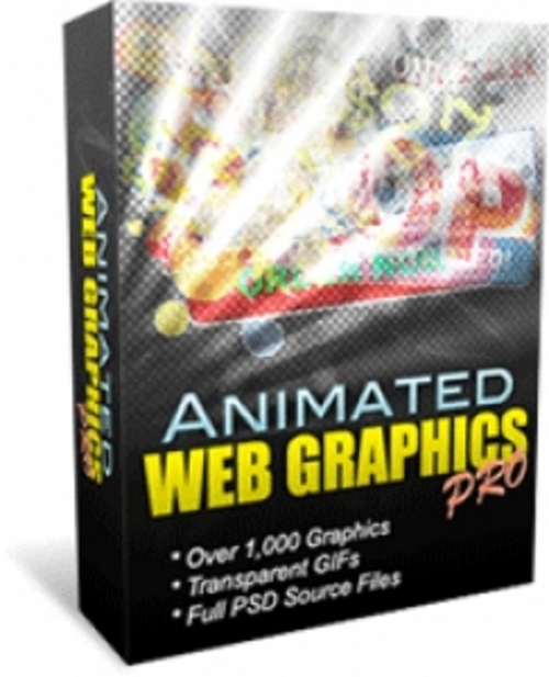 Product picture Animated Web Graphics Pro