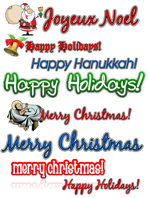 Product picture Holiday clipart Collection