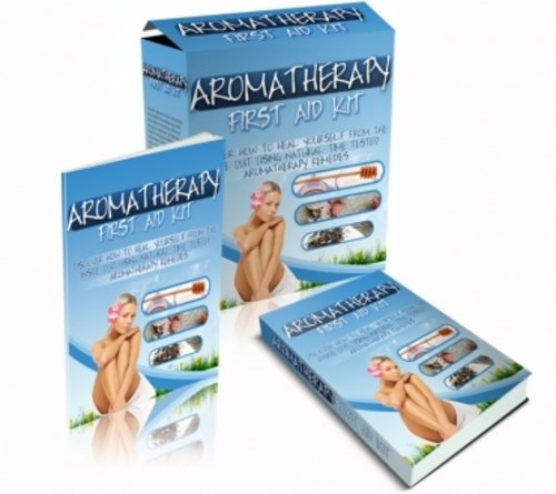 Product picture Aromatherapy First Aid Kit (mrr)
