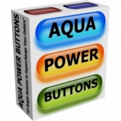 Product picture Aqua Power Buttons (plr)
