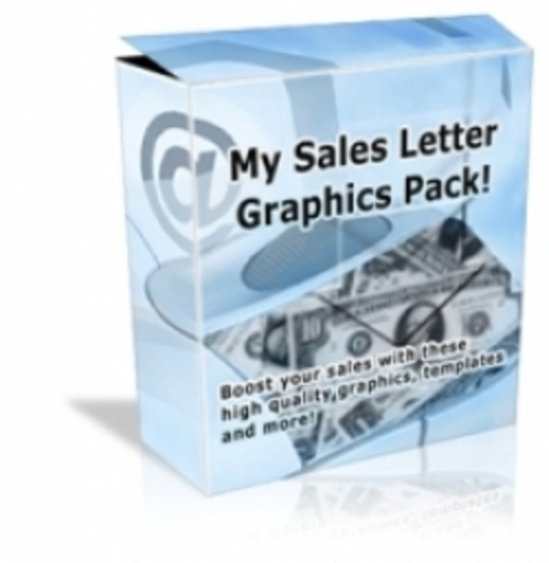 Product picture Sales Letter Graphic Pack (resale rights)