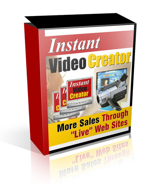 Product picture Instant Video Creator (mrr)