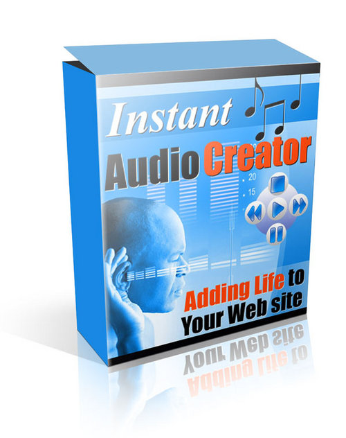 Product picture Instant Audio Creator (rr)