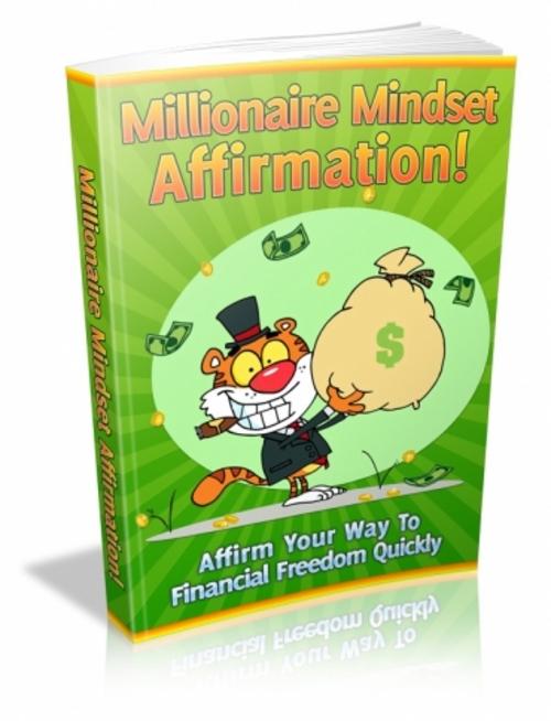 Product picture Millionaire Mindset Affirmation! (mrr)