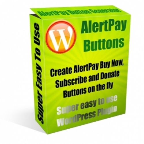 Product picture AlertPay Button Plugin for Wordpress
