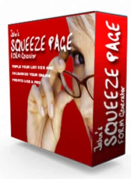 Product picture Squeeze Page Generator