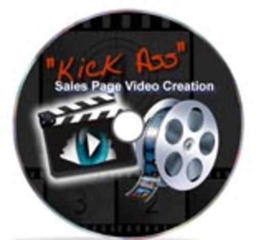 Product picture Kick Ass Video Sales Page Creation